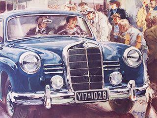 Mercedes oldtimer ersatzteile karasch for Old mercedes benz parts